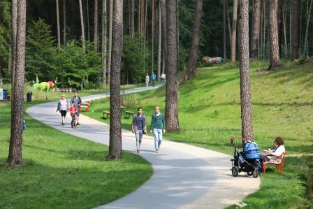 Dünental im Gartenschau-Gelände Bad Lippspringe