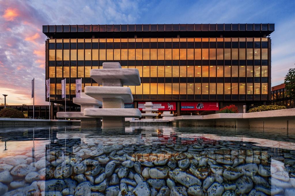 Heinz Nixdorf MuseumsForum - Aussenansicht