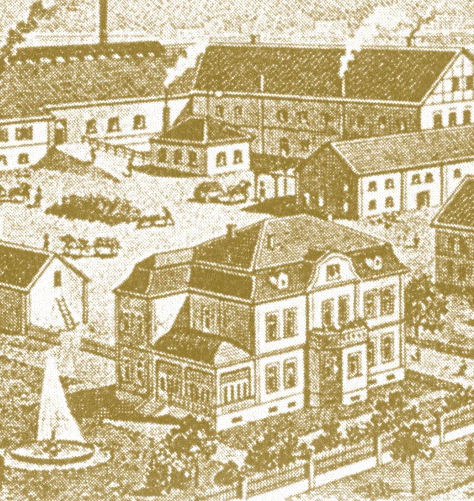 um 1900 in Bad Driburg