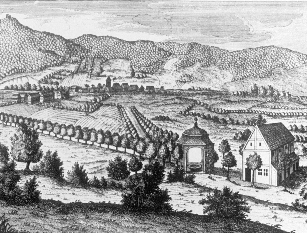 Brunnenhaus mit dem Haus des Brunnenmeisters