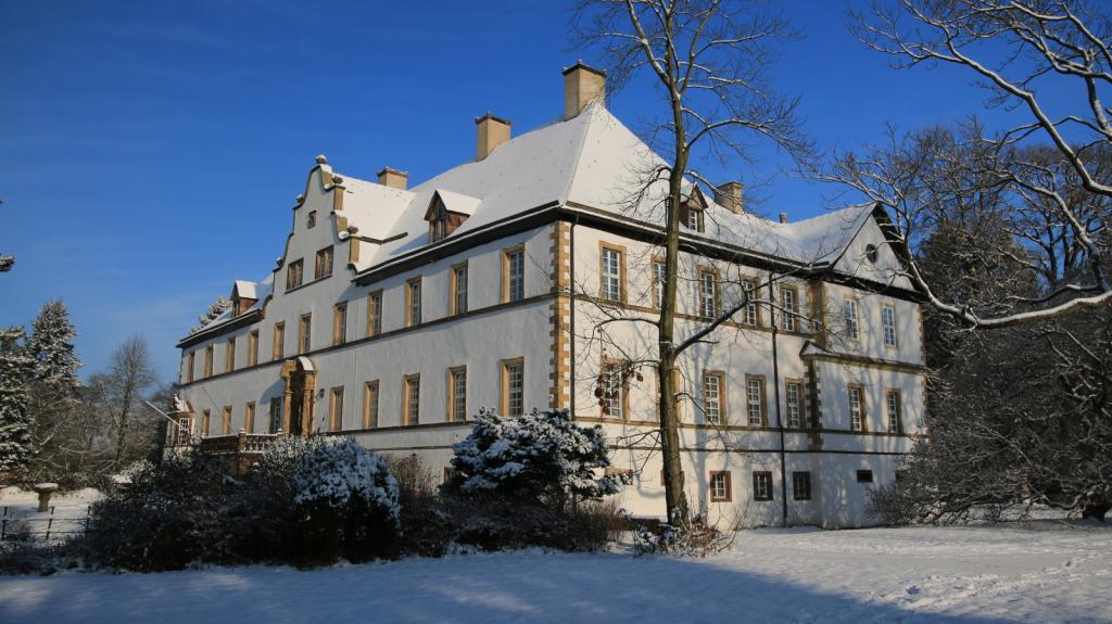 im Schlosspark Wehrden