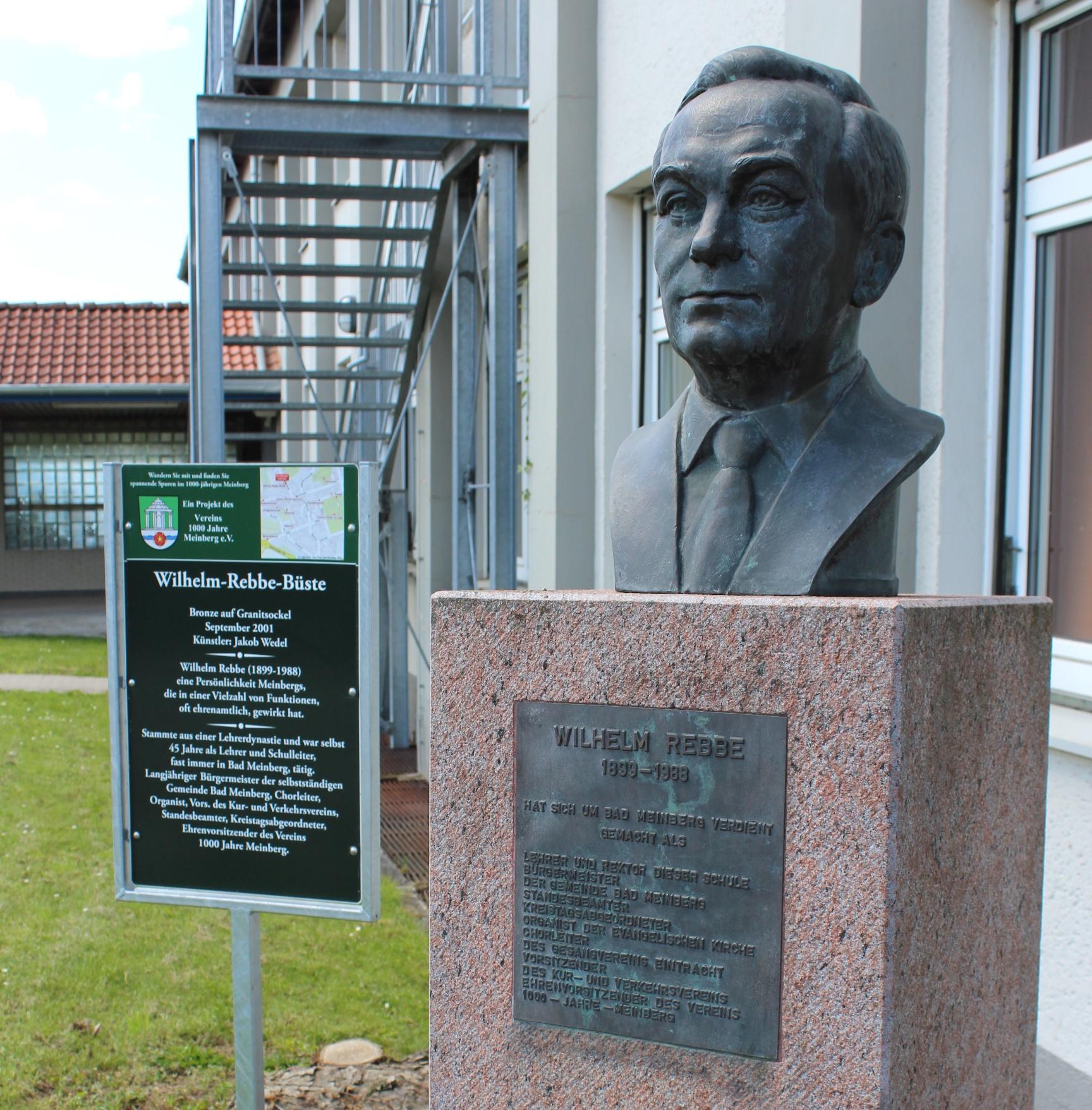 Wilhelm-Rebbe-Büste