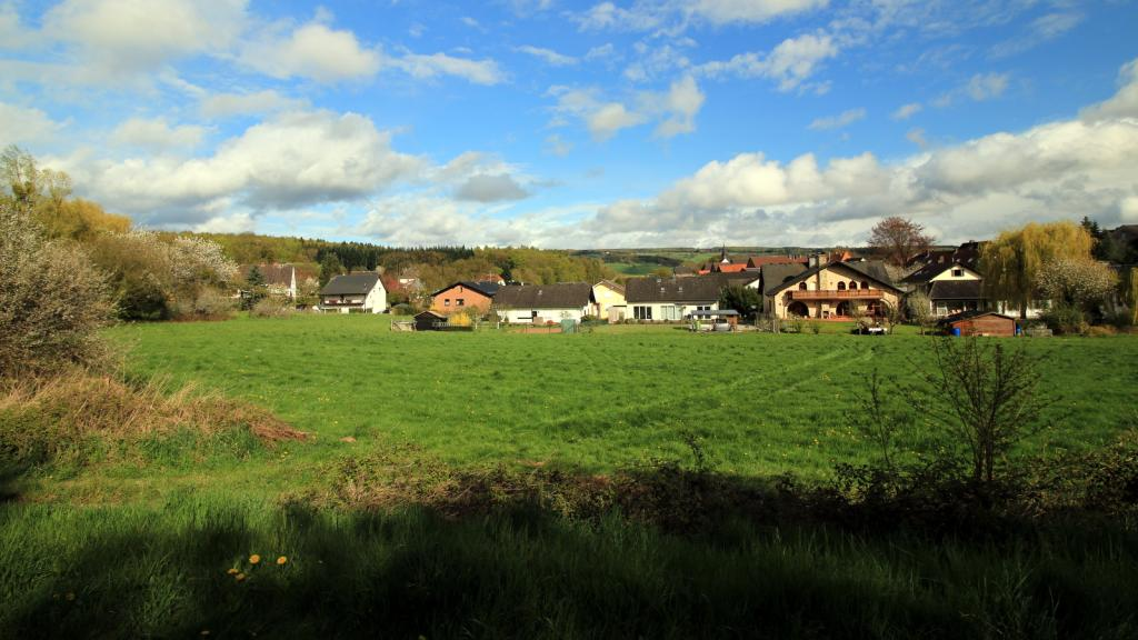 Blick vom Doktorborn nach Blankenau
