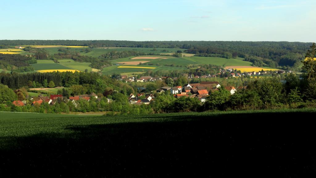 Blick vom Bierenberg auf Blankenau