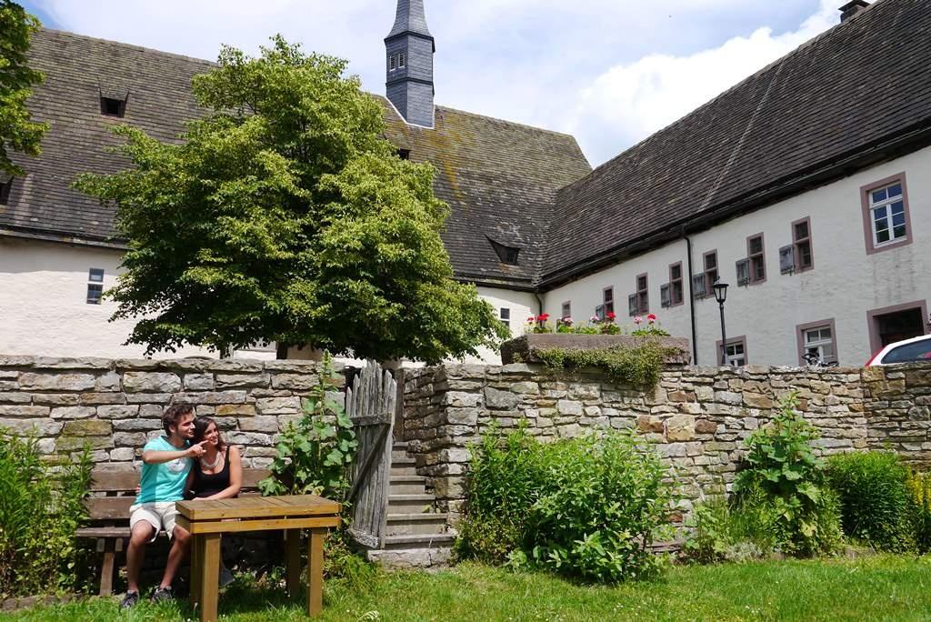 Garten in der Klosteranlage