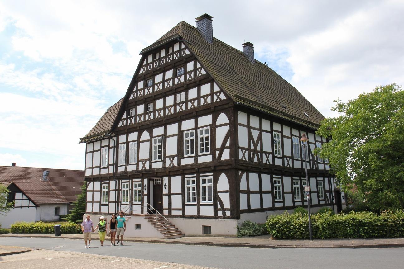 Das Priorhaus am Kloster Falkenhagen