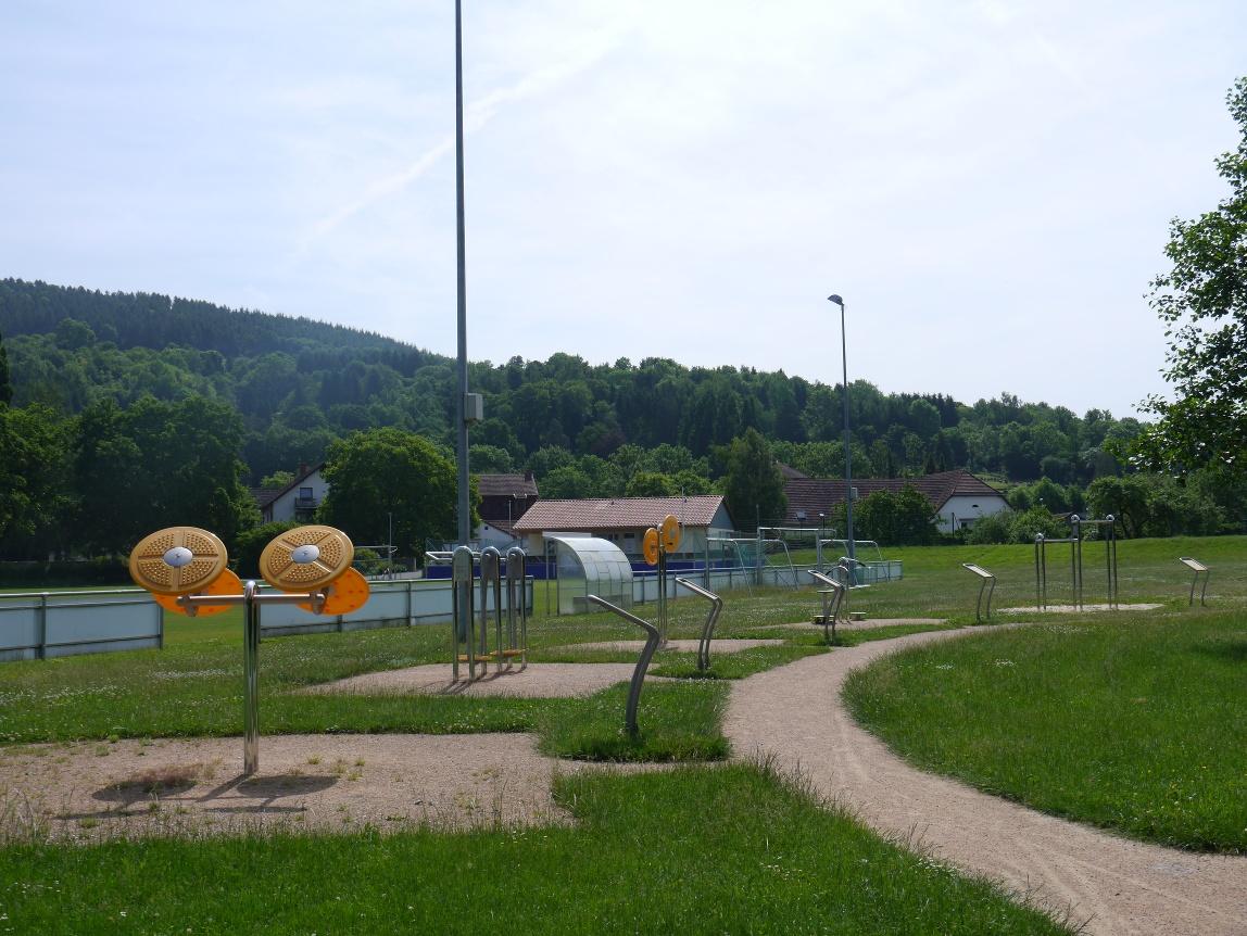 Bewegungspark im Emmerauenpark