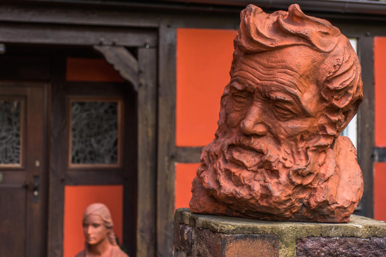 Böckstiegel-Skulptur