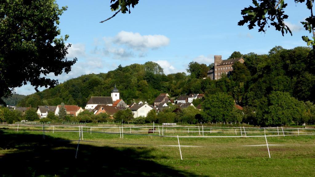 Herstelle Blick über die Weser