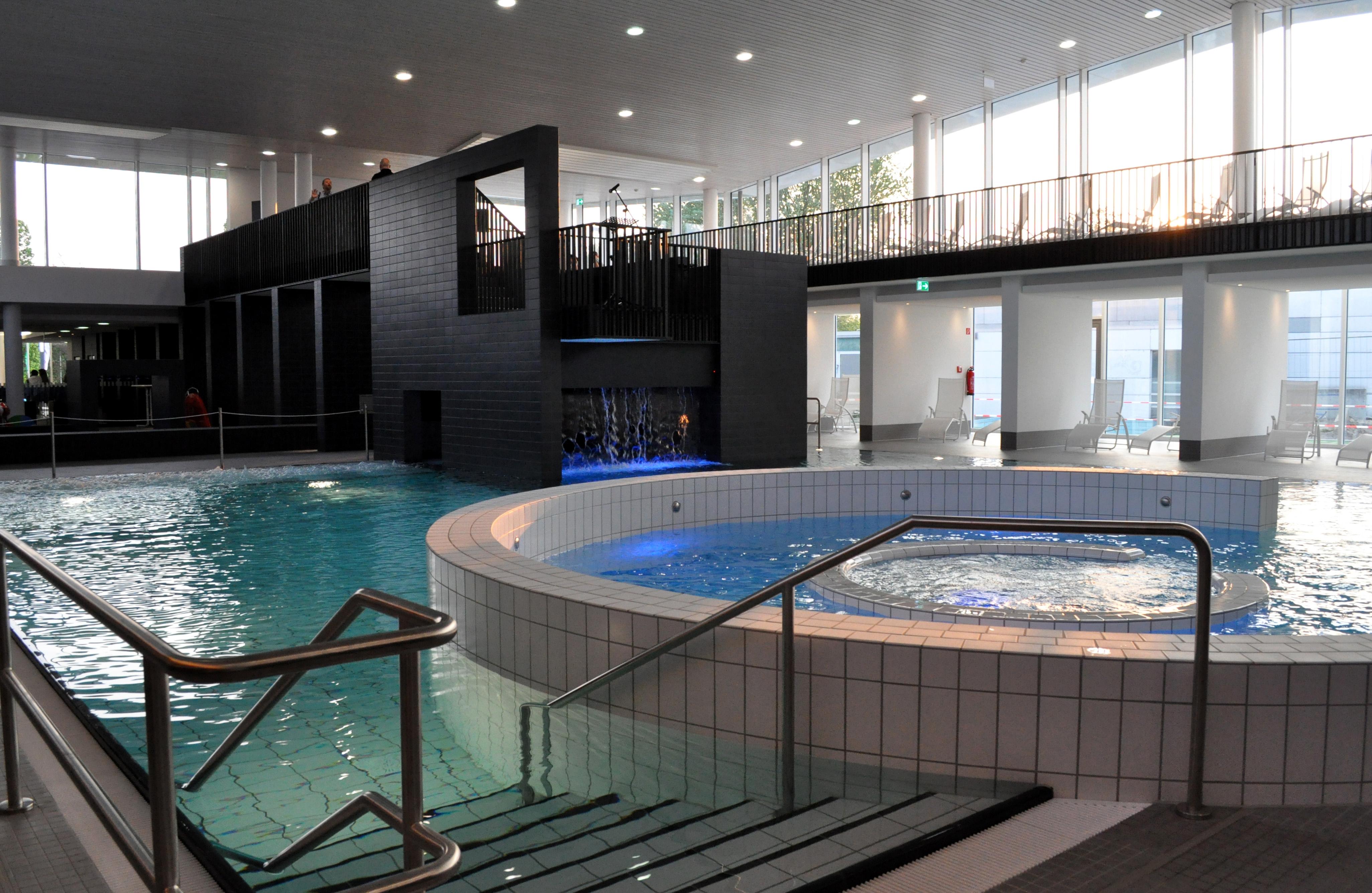 Attraktionsbecken im Sport- und Freizeitbad Allerwelle Gifhorn