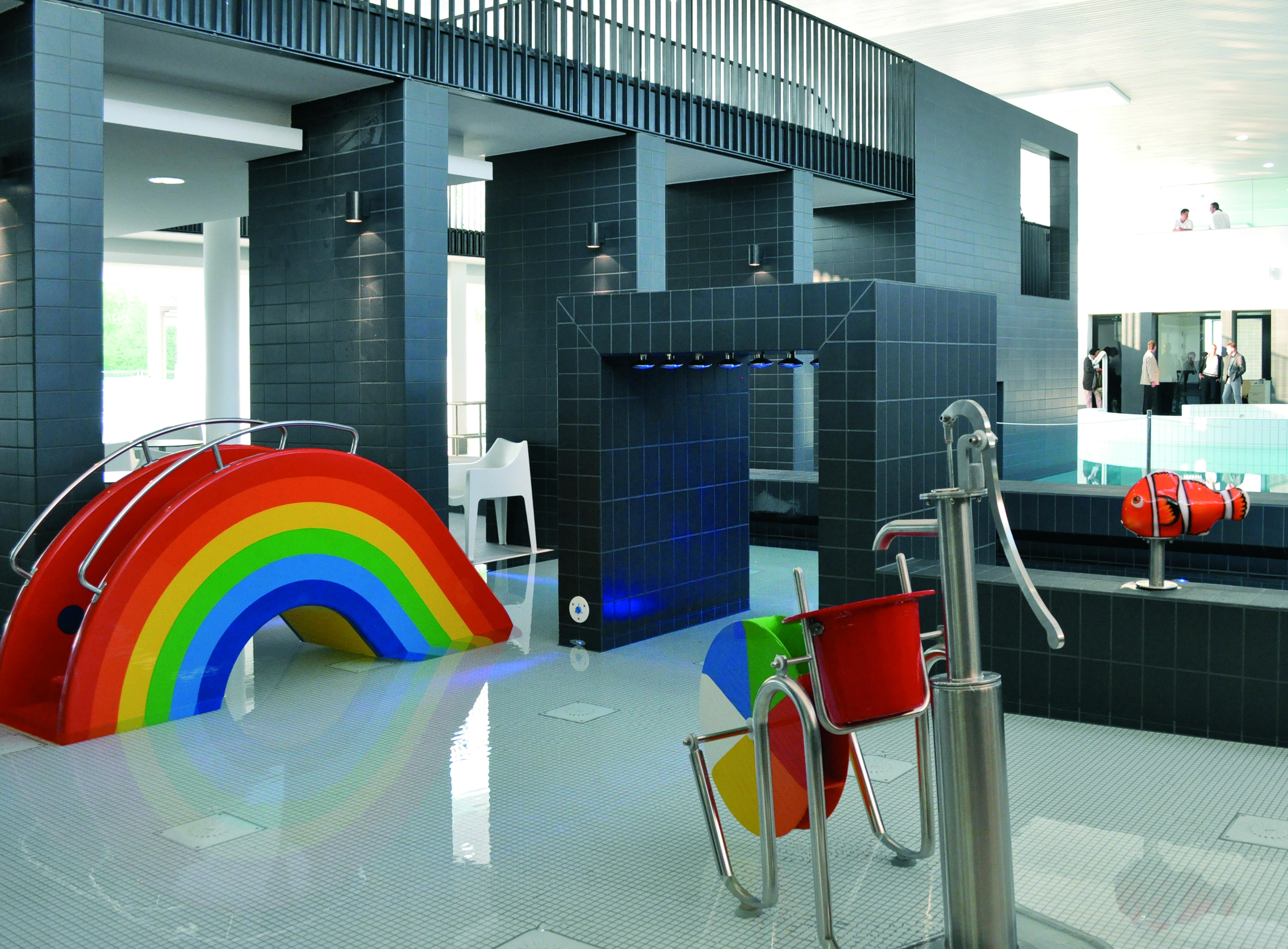 Kinderbecken im Sport- und Freizeitbad Allerwelle Gifhorn