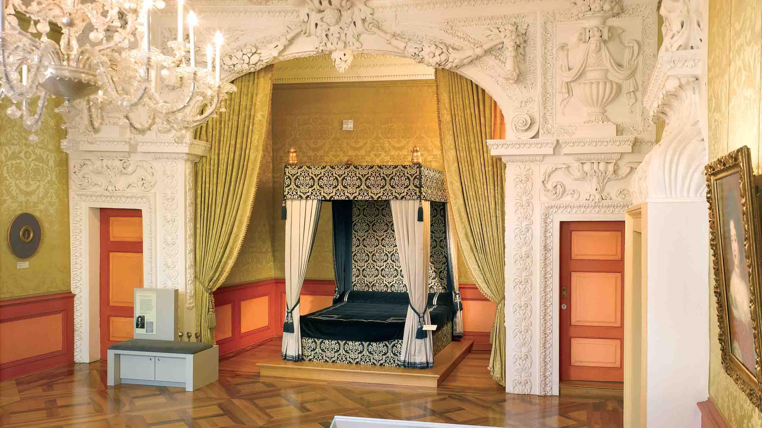 Celler Schloss, Paradezimmer im Residenzmuseum
