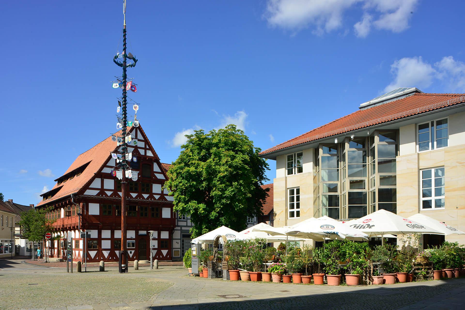 Blick auf den Gifhorner Marktplatz
