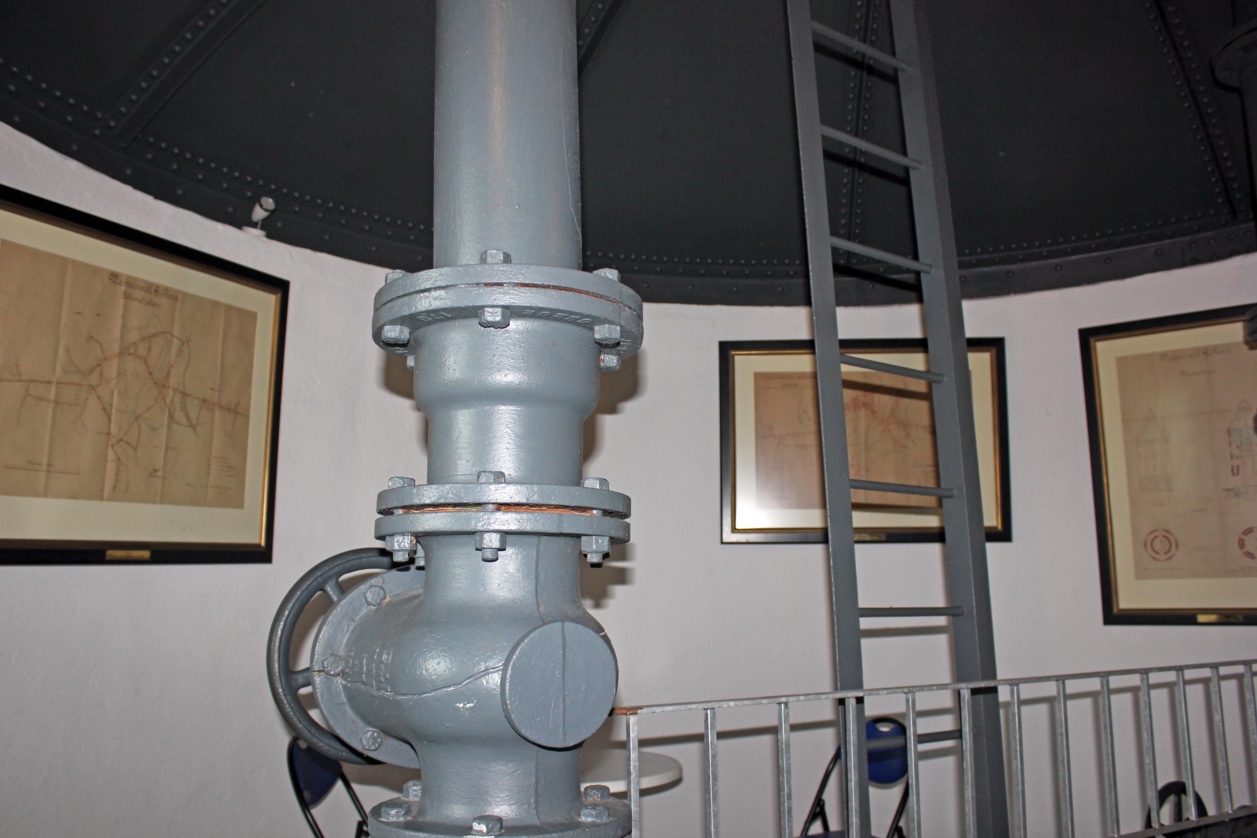 Innenbereich des Gifhorner Wasserturms