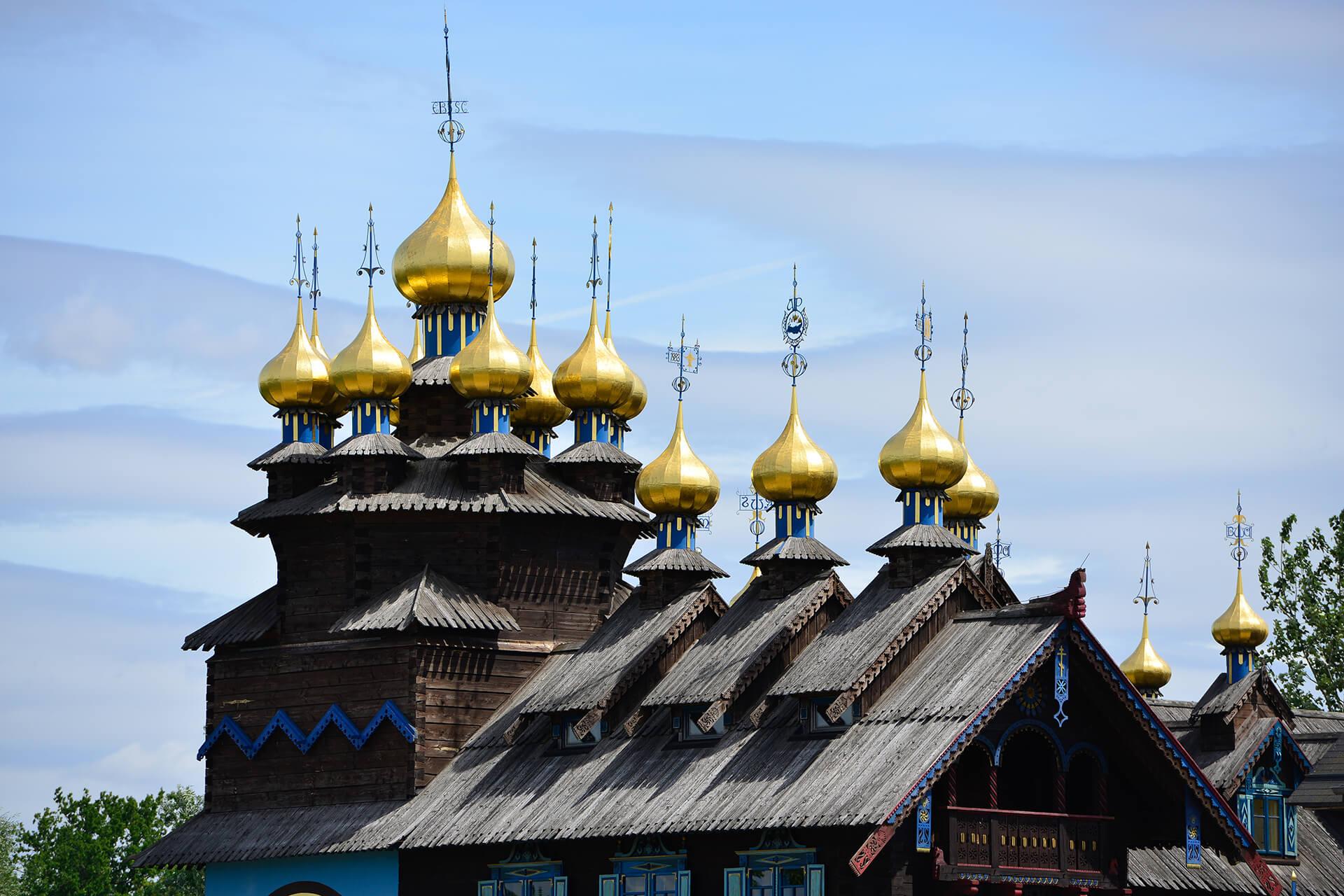 Kuppel Glocken-Palast
