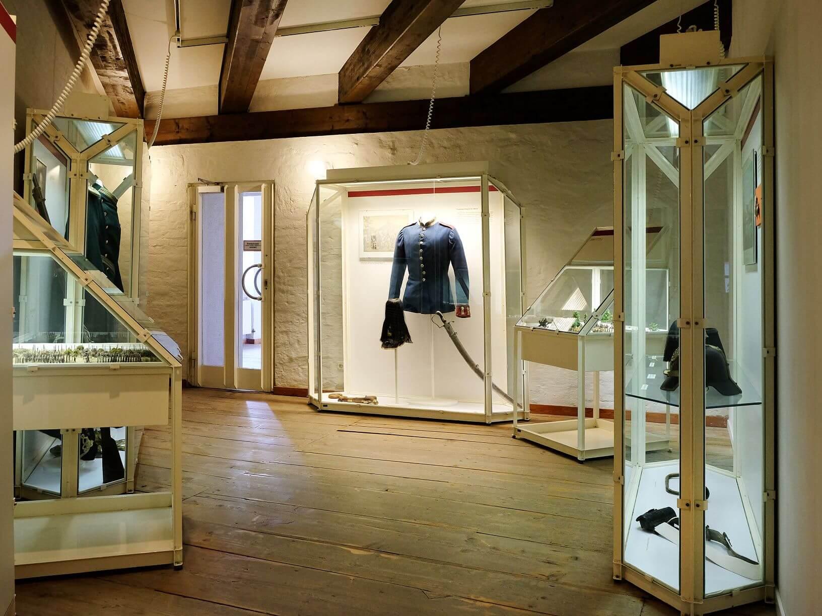 Blick in die Dauerausstellung im Historischen Museum Schloss Gifhorn