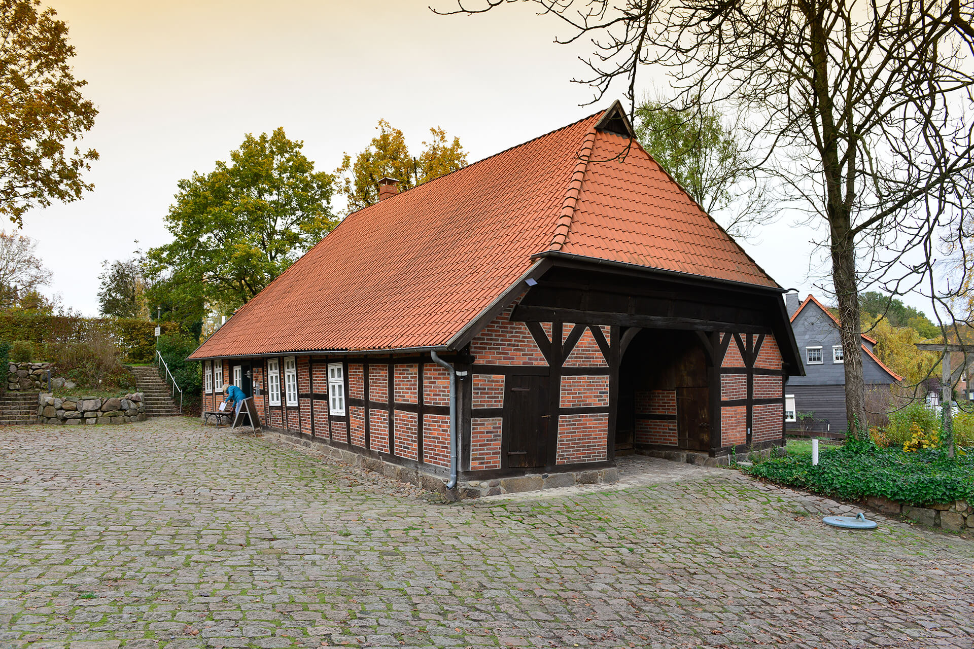 Außenansicht Schulmuseum Steinhorst