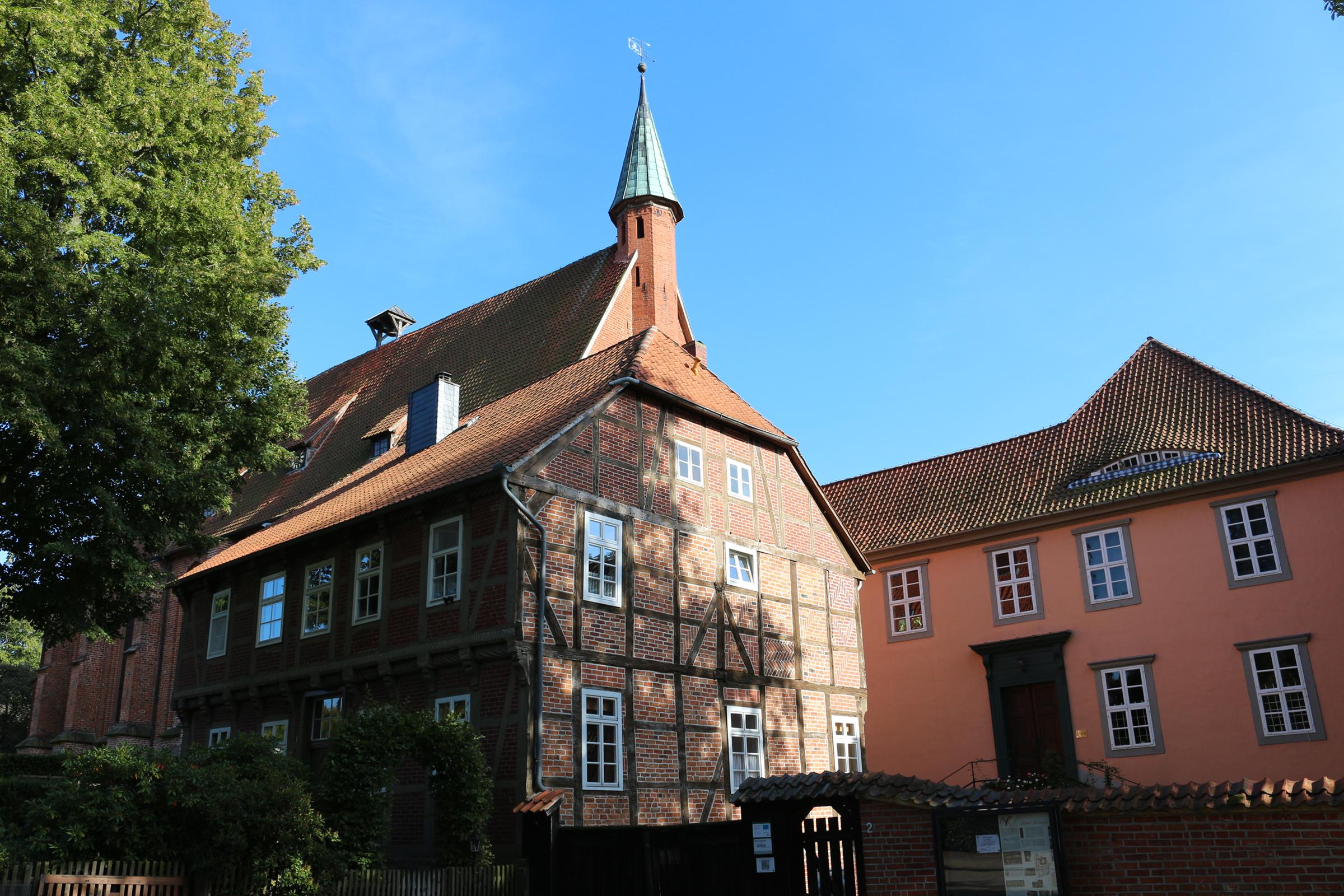 Eingangsbereich Kloster Isenhagen