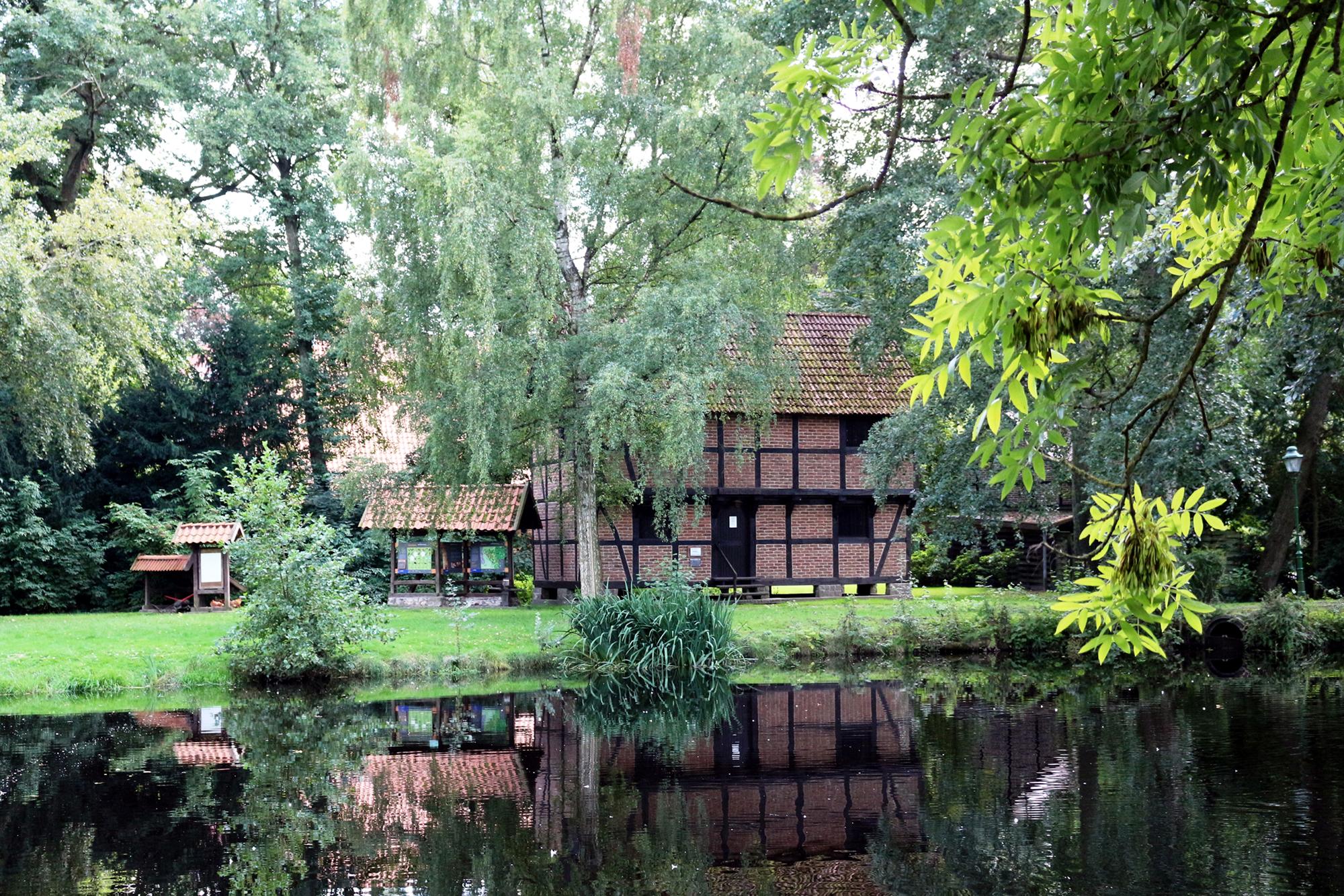 Teich am Haus der Landschaft