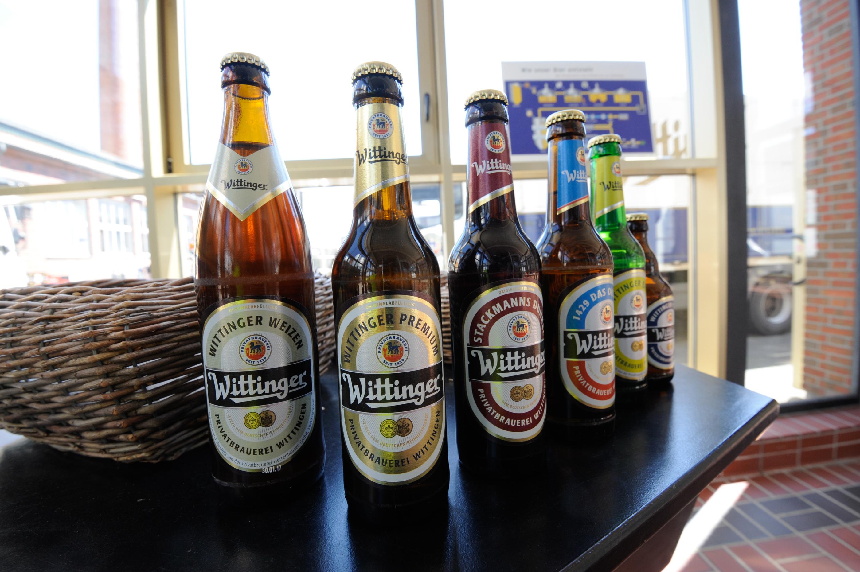 Privatbrauerei Wittingen - Sortenauswahl