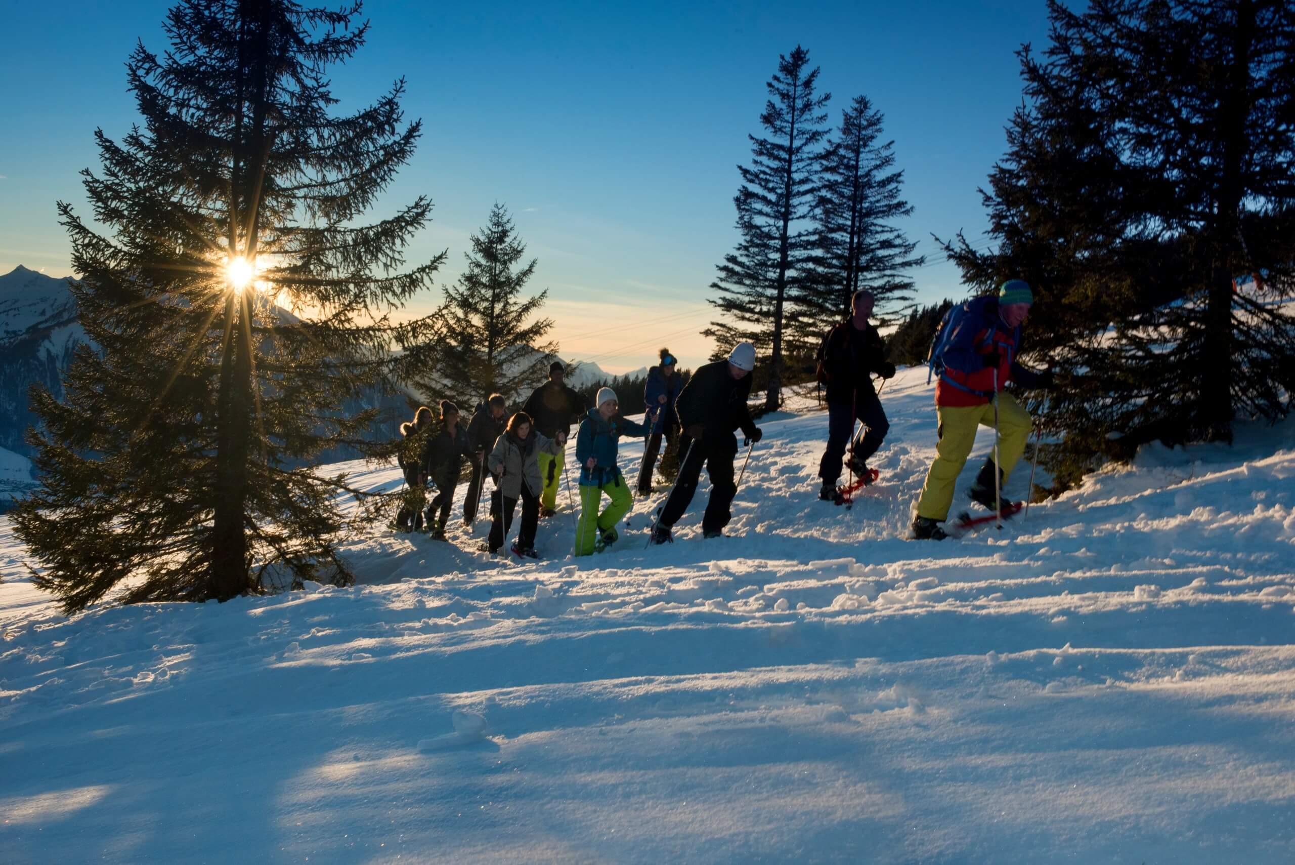 niederhorn-schneeschuhlaufen-winter-abendstimmung-tour-sonnenuntergang