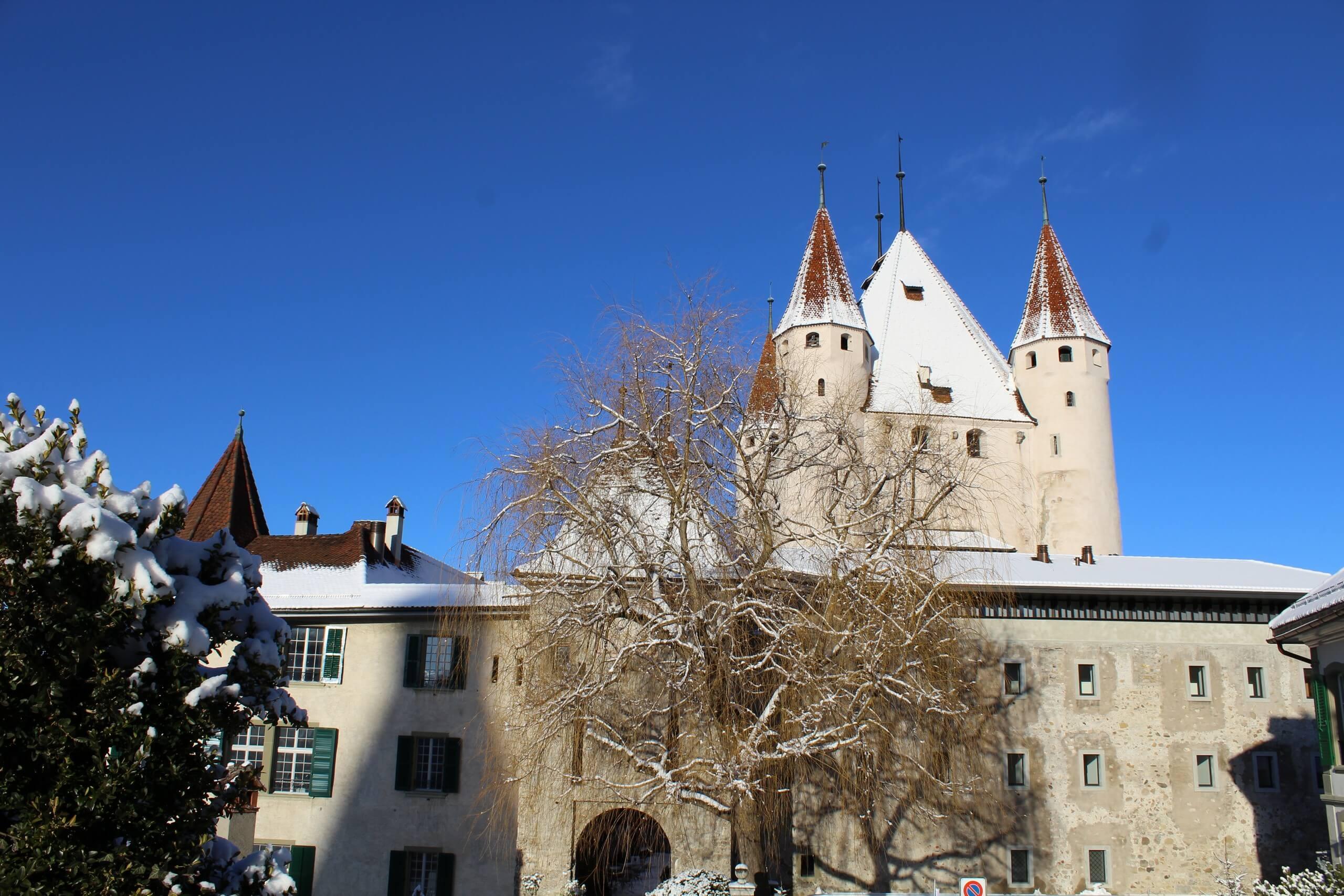 thun-schloss-winter-eingang-schnee