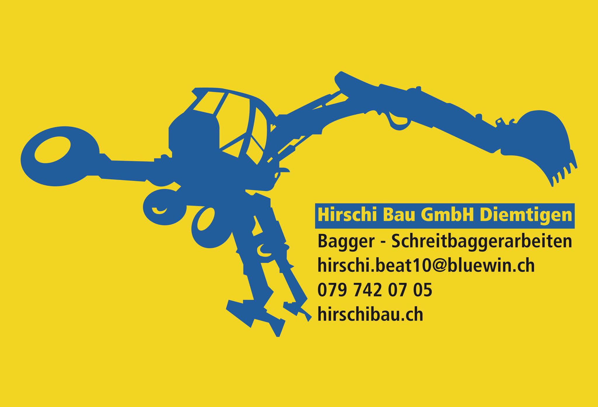 Logo Hirschi Bau Gmbh