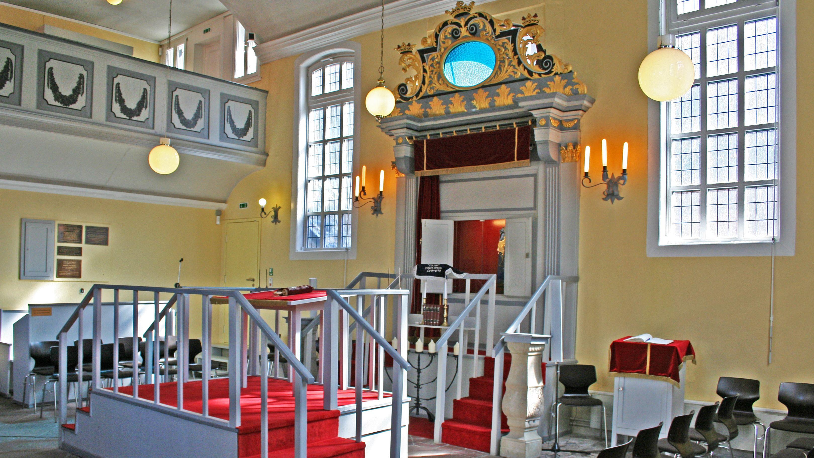 Celler Synagoge von innen