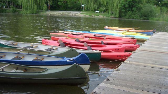 Bootsflotte der Bootsvermietung AllerLeih in Celle