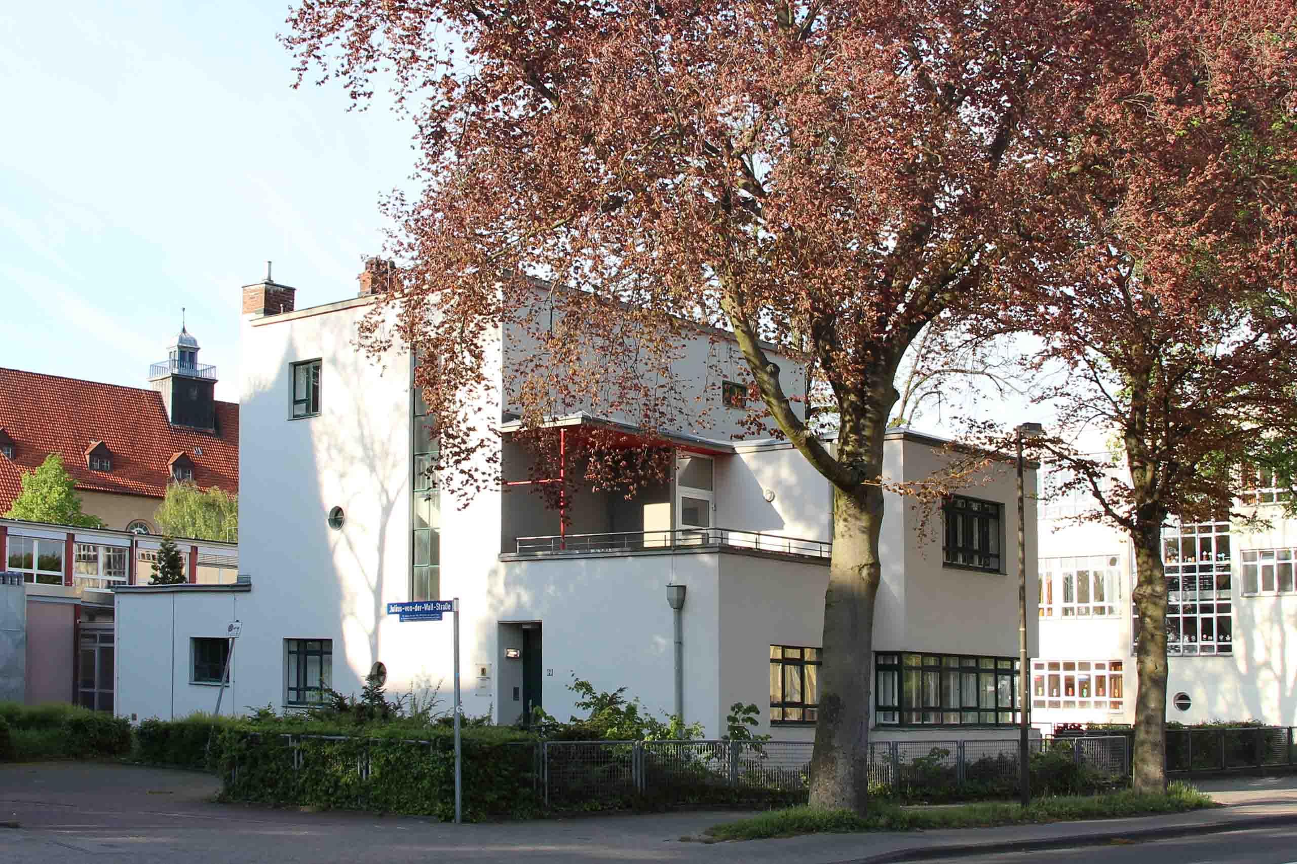 Rektorwohnhaus in Celle von außen