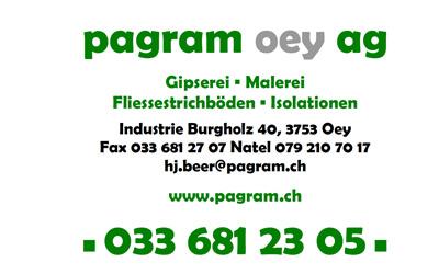 Pagram Oey AG