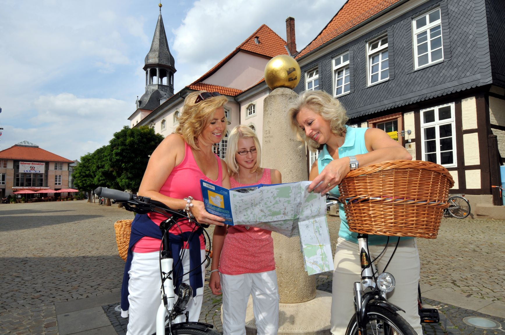 Mit dem Rad in der Gifhorner Altstadt