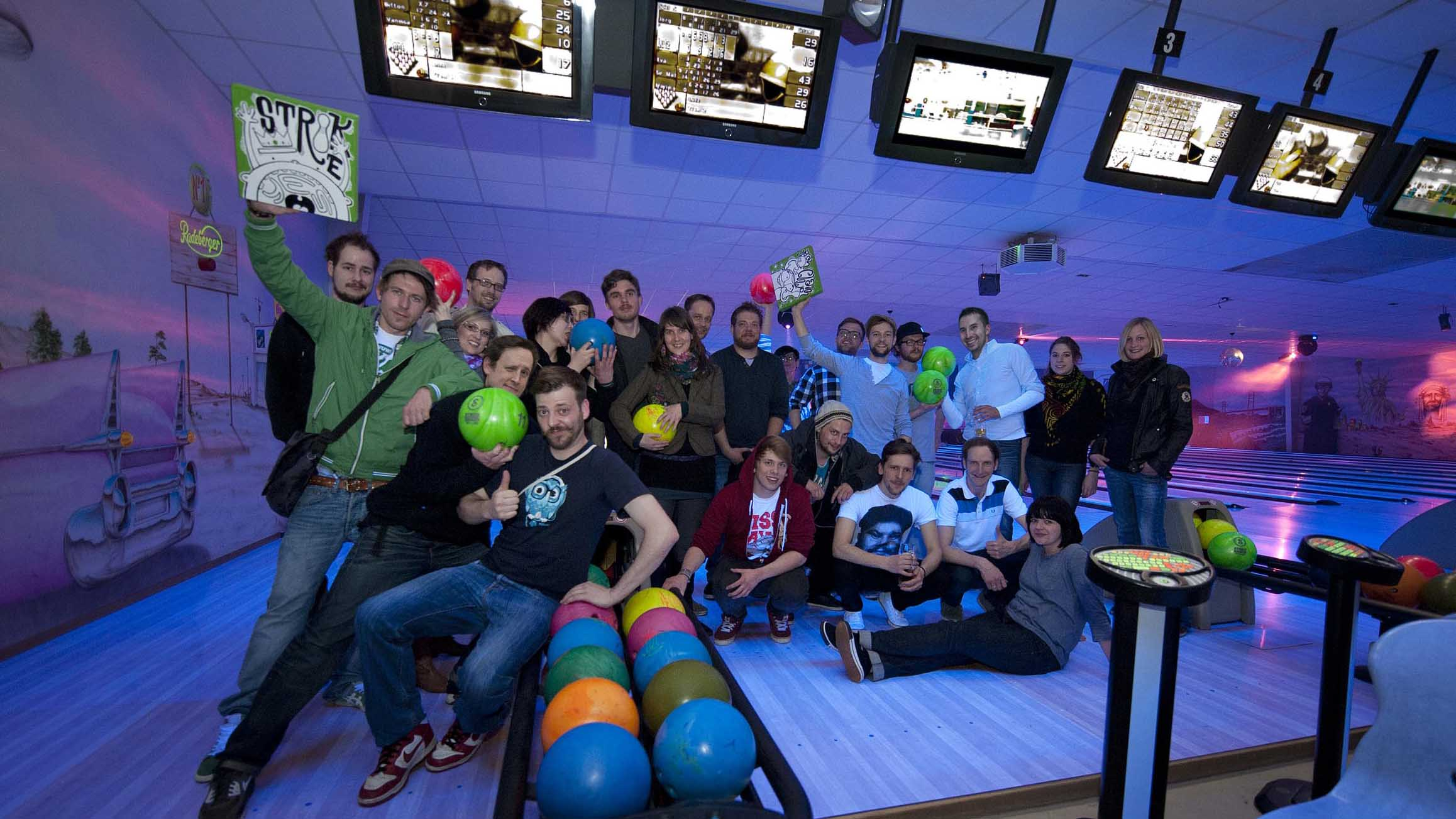 Pinguin Bowling Bar in Celle, Gruppe