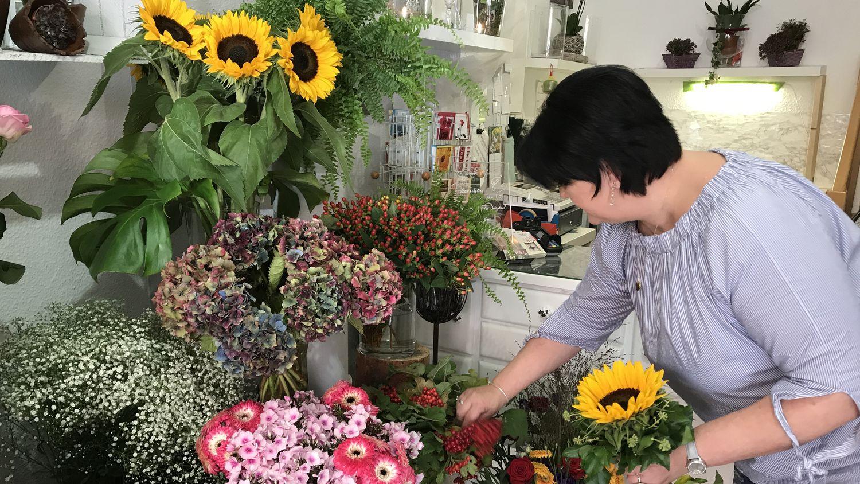 celle-einkaufen-sunflower-schnittblumen