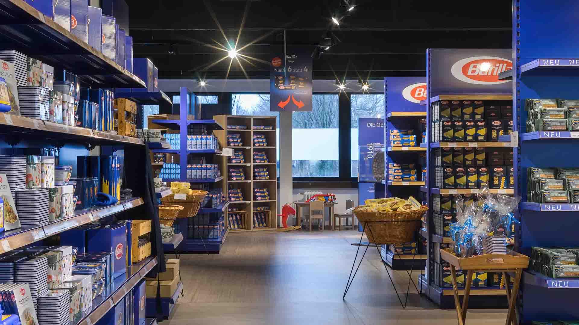 Barilla Shop und Museum