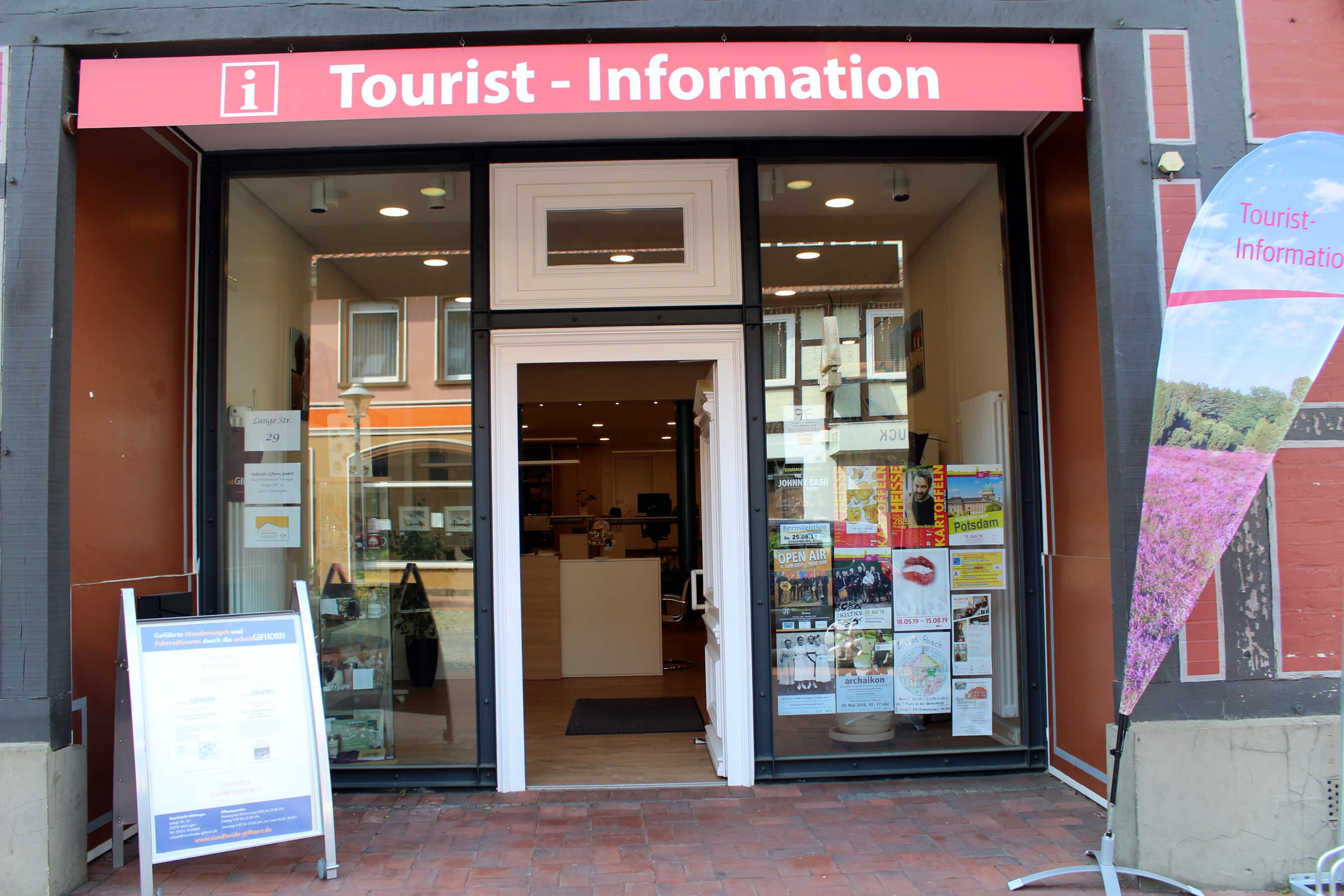 Eingang Touristinformation Wittingen