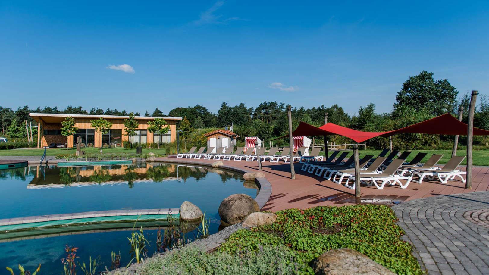 Campingpark Südheide, Naturschwimmteich