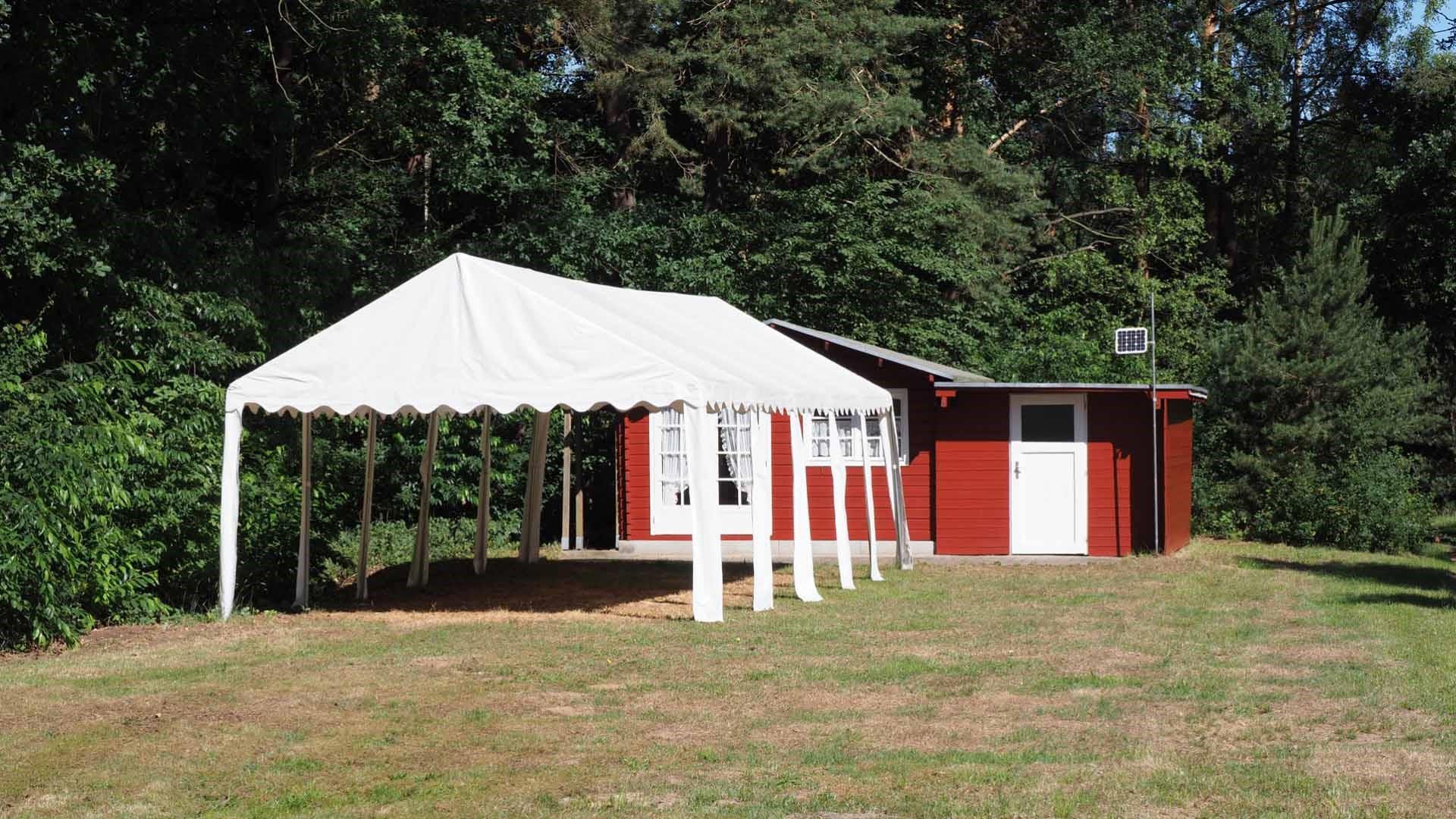 Naturcamping Hambühren, Partyhütte