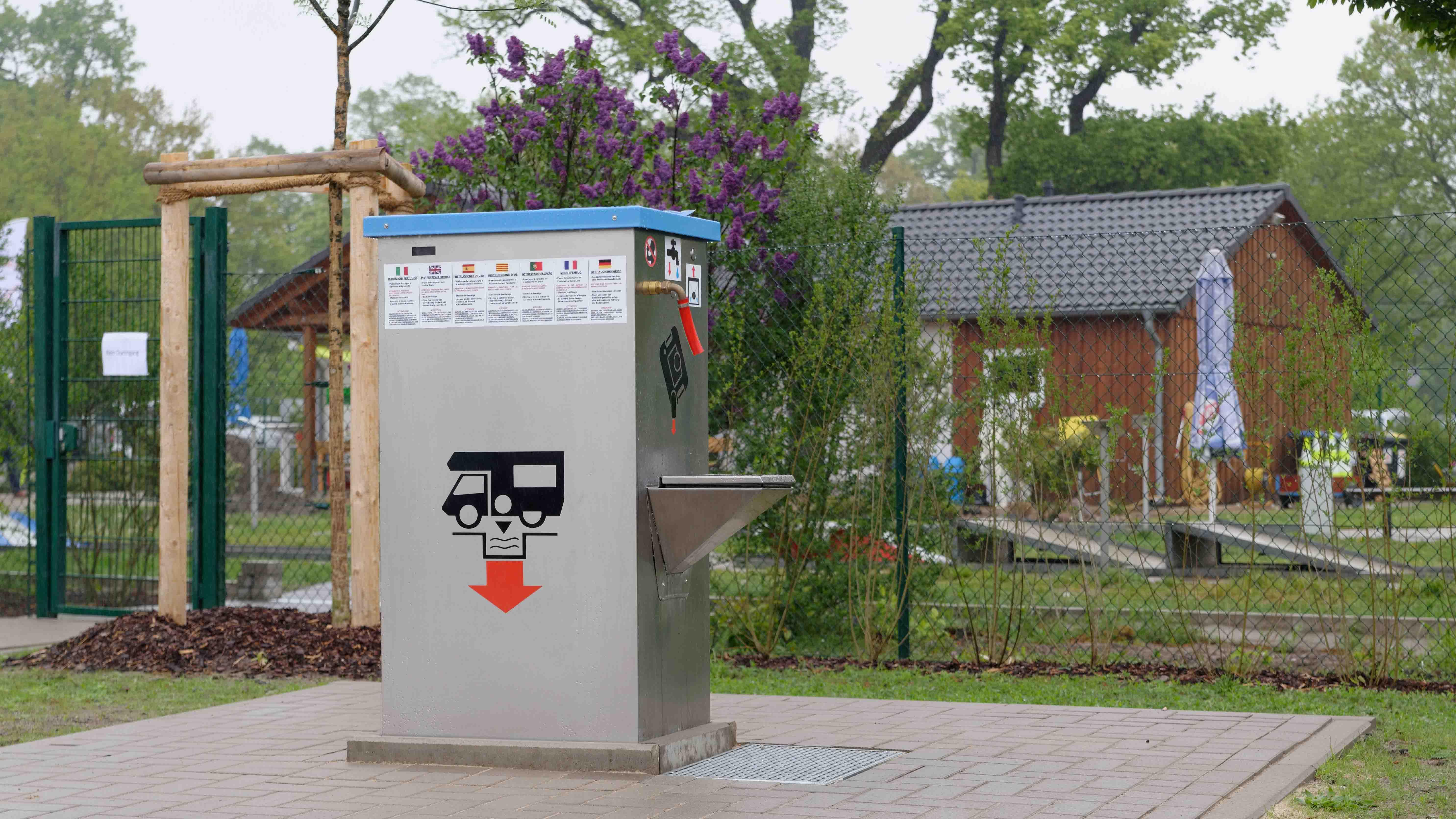 Entsorgungsstation WoMo Celle