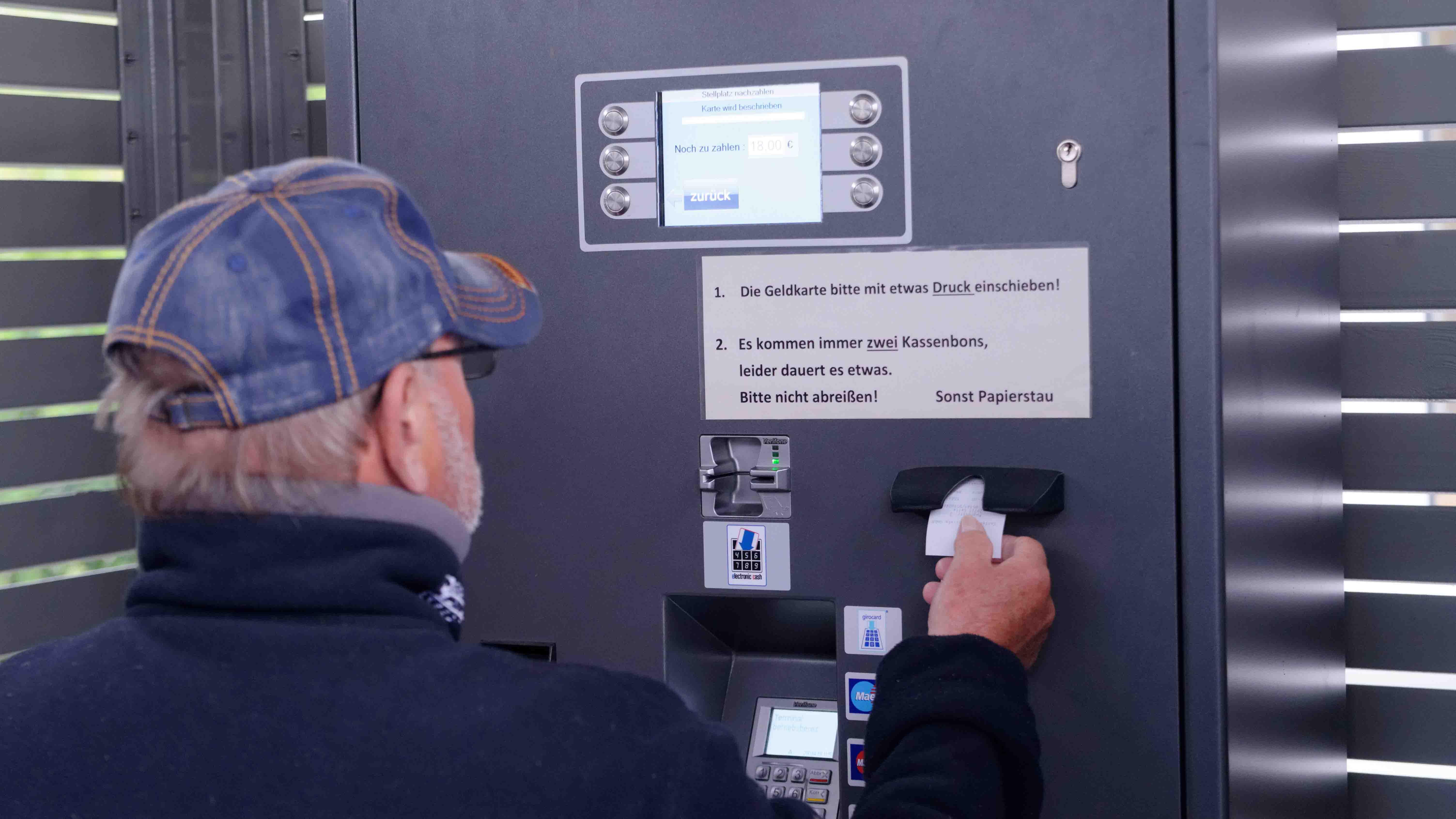 Kassenautomat WoMo Celle