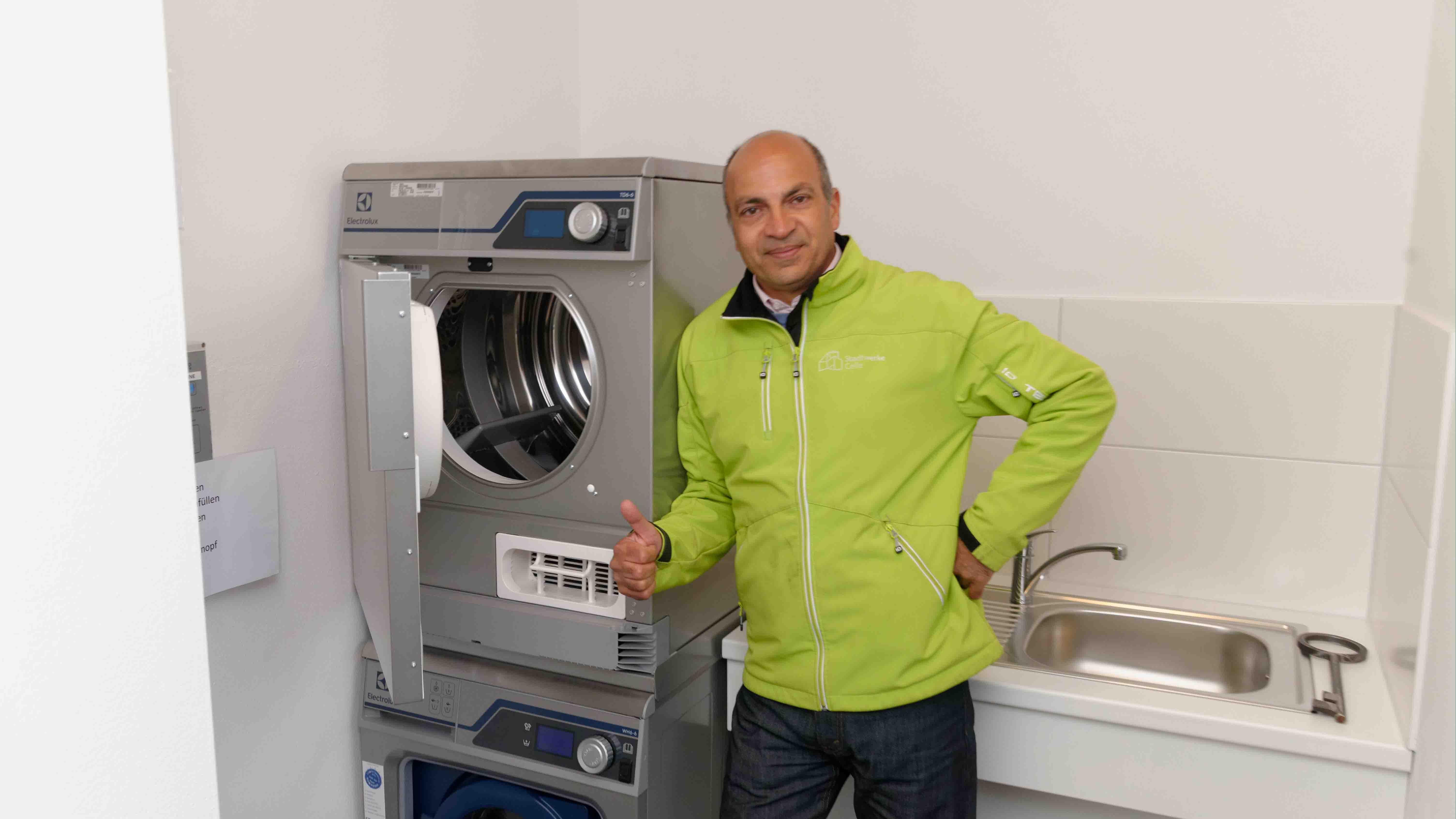 Waschraum WoMo Celle