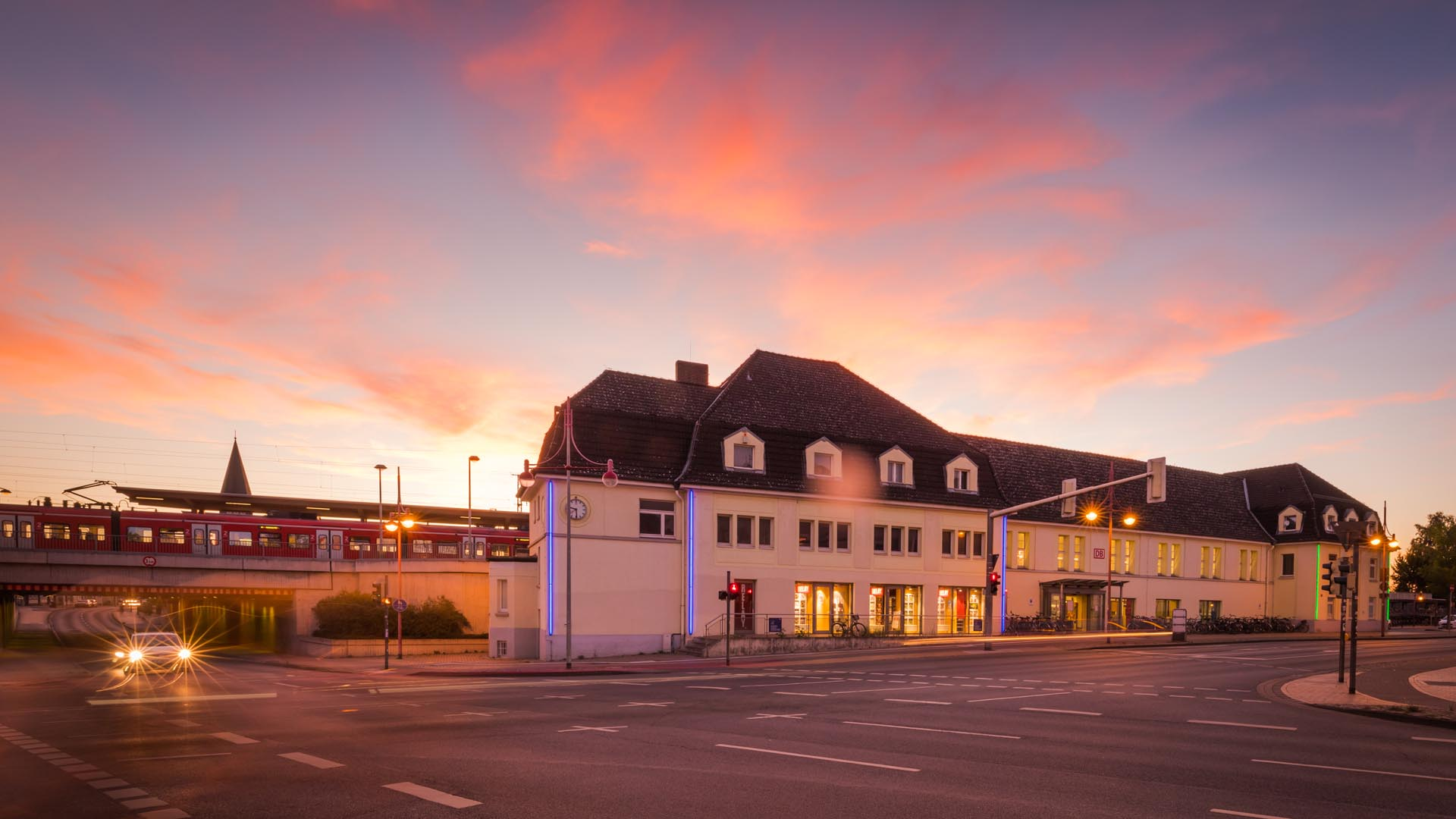 Celler Bahnhof, Lichtkunst
