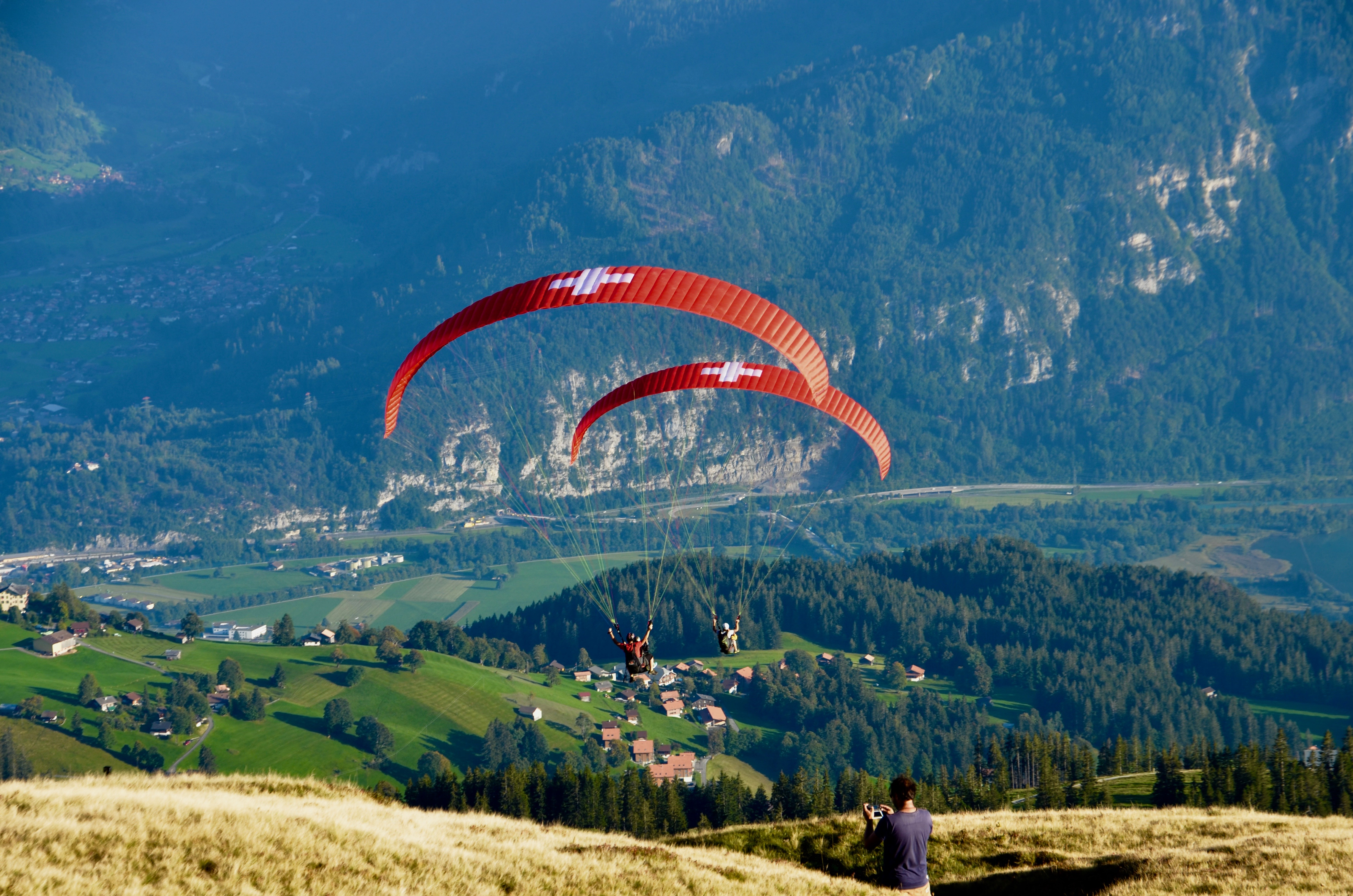 swiss-paragliding-sommer-paraglider