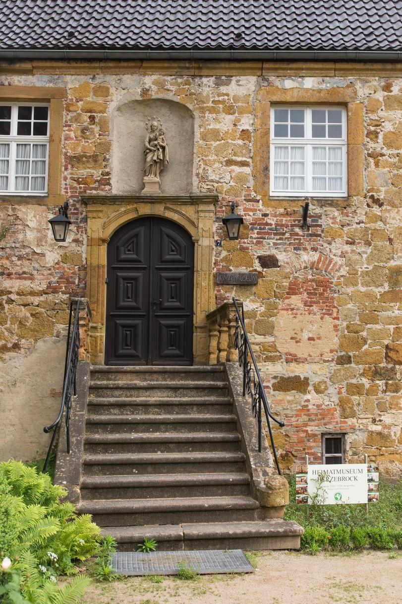 Eingang zum Heimatmuseum Herzebrock