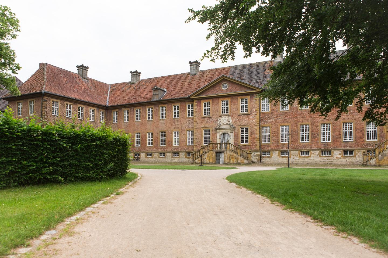 Kloster Clarholz mit Blick auf den Eingang