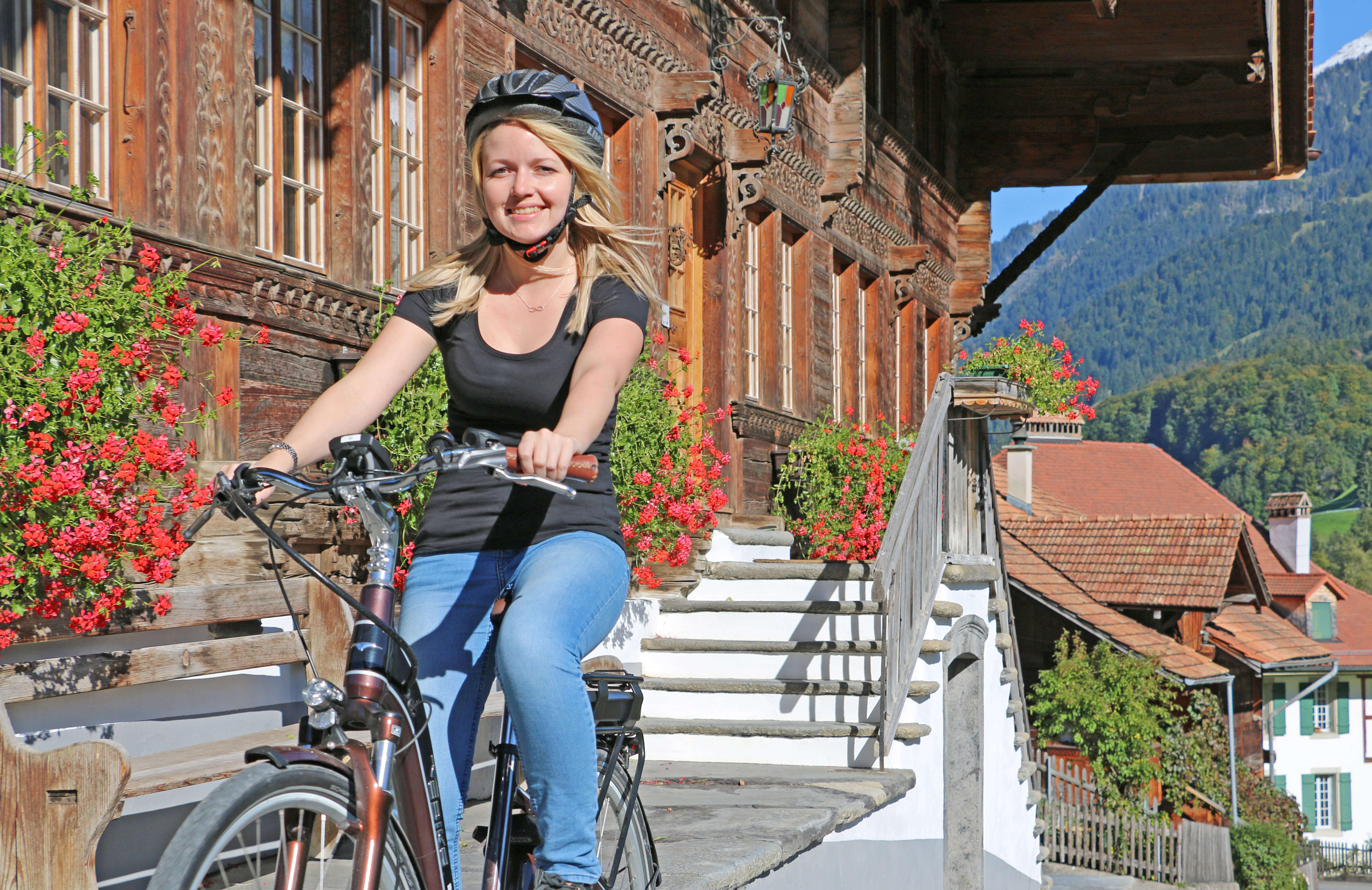 E-Bike Hausweg Grosshaus Diemtigen