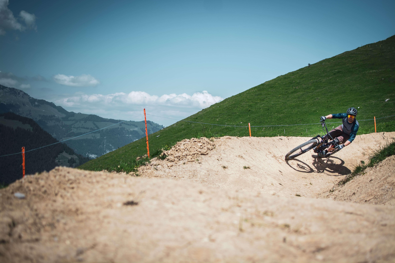 Downhilltrail im Bikepark Wiriehorn