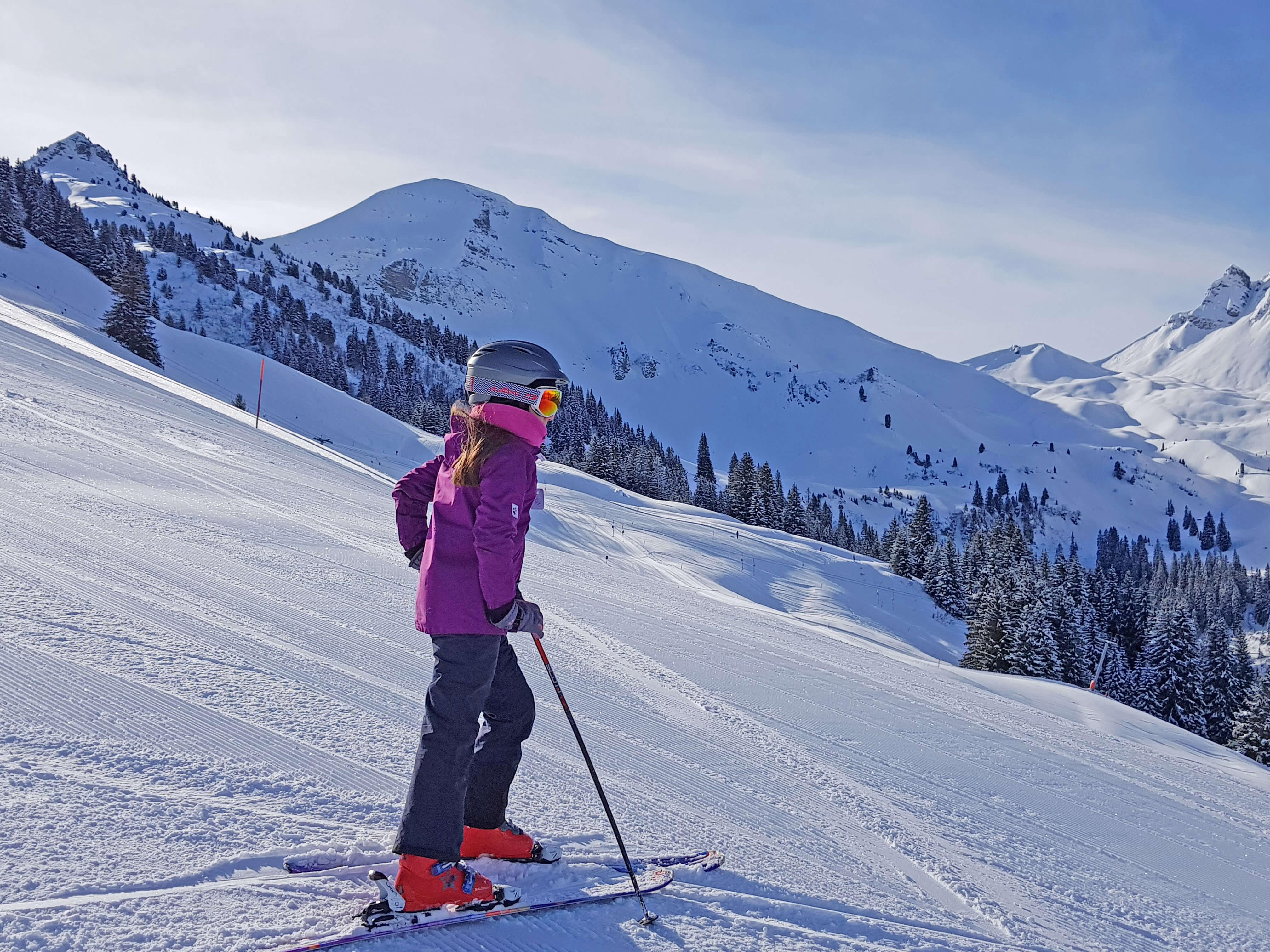 Perfekte Schnee- und Pistenverhältnisse im Skiegebiet Grimmialp