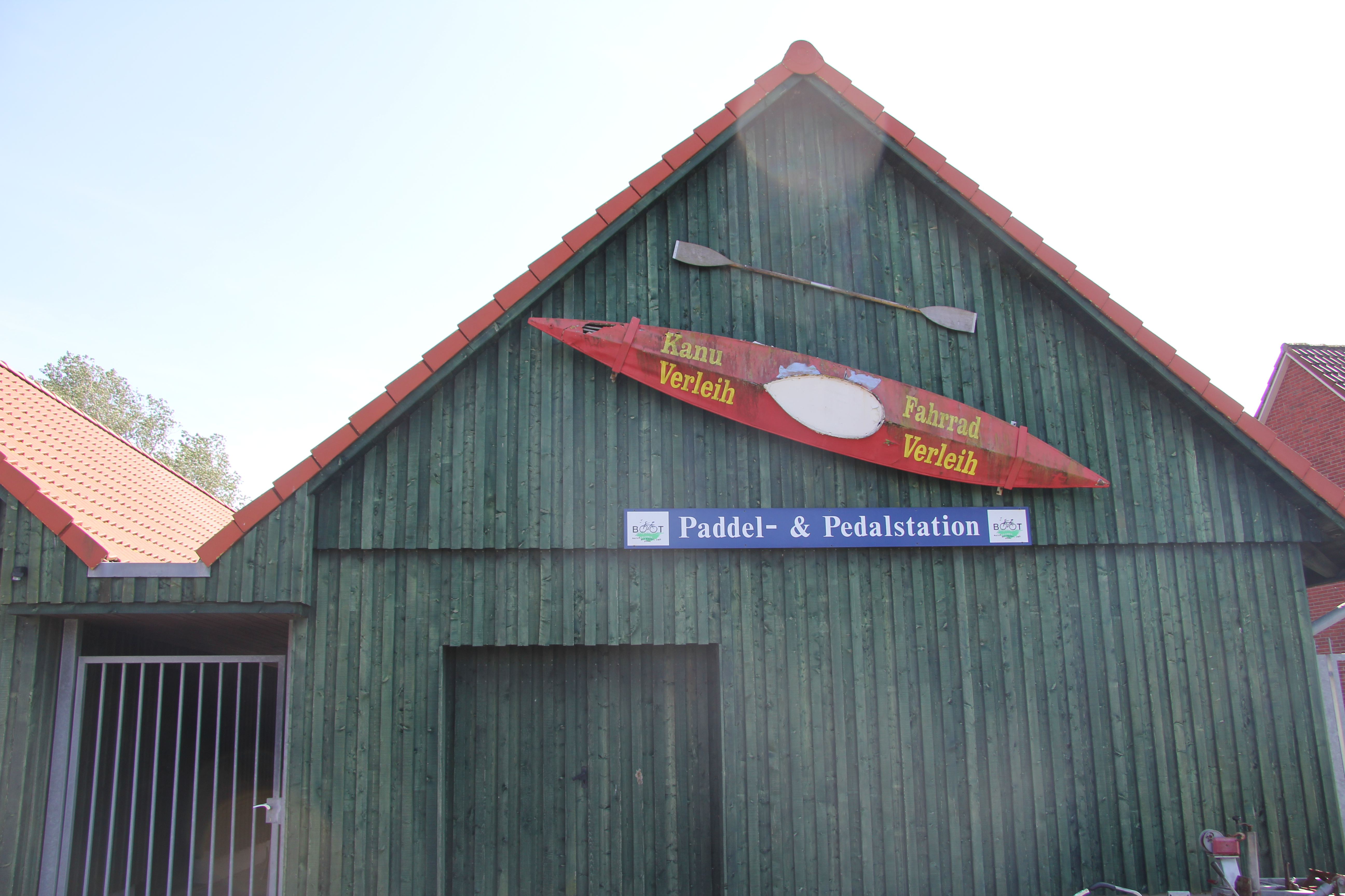 Paddel - & Pedalstation in Neßmersiel