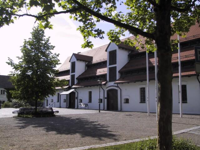 Schranne und Schrannenplatz in Illertissen